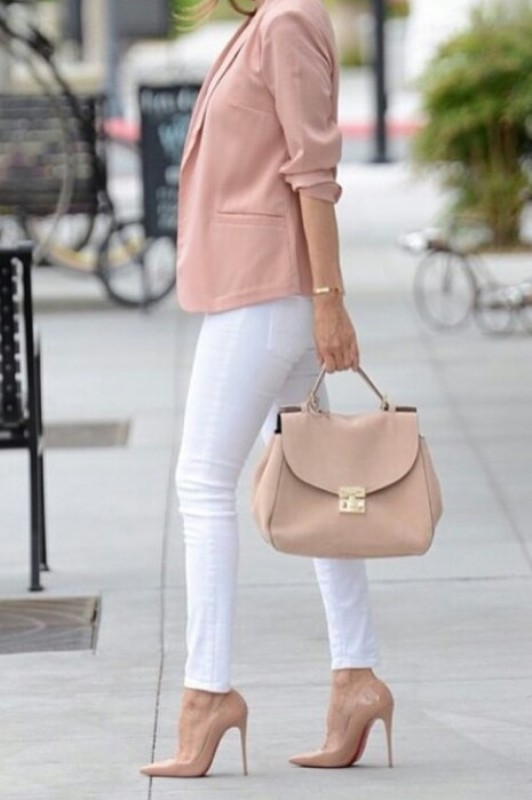 spring-and-summer-office-outfit-ideas-6-1 87+ Spring and Summer Office Outfit Ideas for Business Ladies 2019