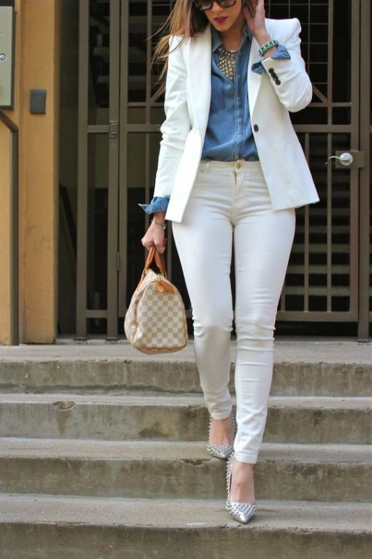 spring-and-summer-office-outfit-ideas-8-1 87+ Spring and Summer Office Outfit Ideas for Business Ladies 2019