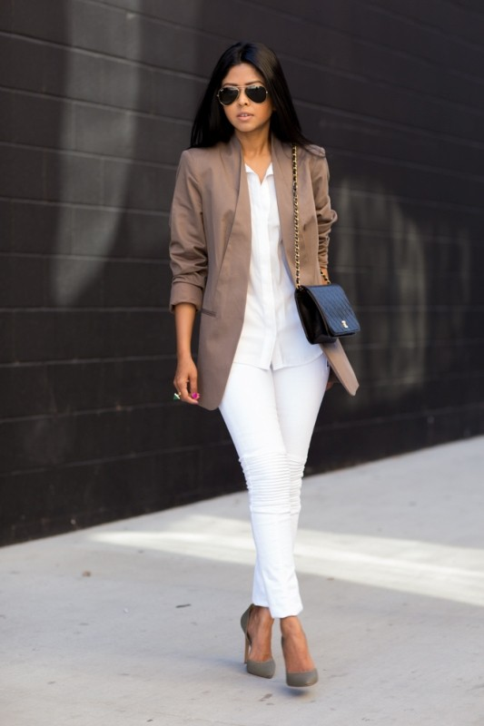 spring-and-summer-office-outfit-ideas-9-1 87+ Spring & Summer Office Outfit Ideas for Business Ladies 2018