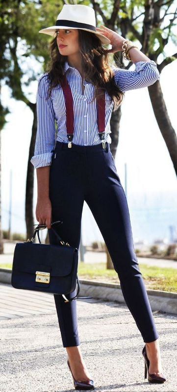 spring-and-summer-office-outfits-11-1 87+ Elegant Office Outfit Ideas for Business Ladies in 2021