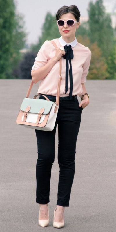 spring-and-summer-office-outfits-13-1 87+ Elegant Office Outfit Ideas for Business Ladies in 2021