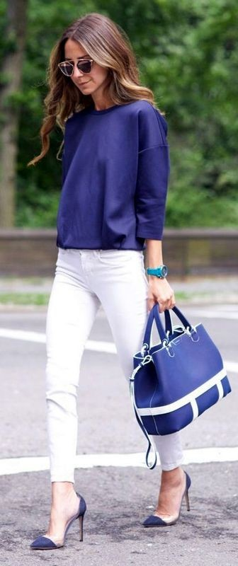spring-and-summer-office-outfits-5-1 87+ Spring & Summer Office Outfit Ideas for Business Ladies 2017
