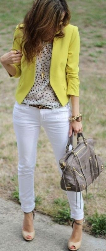 spring-and-summer-office-outfits-6-1 87+ Spring & Summer Office Outfit Ideas for Business Ladies 2018