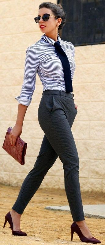 spring-and-summer-office-outfits-7-1 87+ Spring and Summer Office Outfit Ideas for Business Ladies 2019