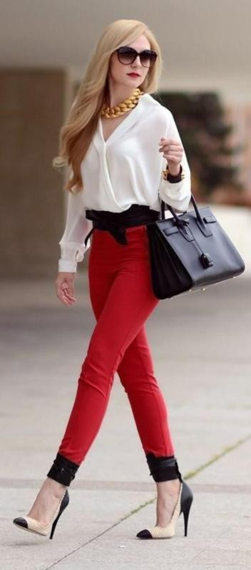spring-and-summer-office-outfits-9-1 87+ Spring & Summer Office Outfit Ideas for Business Ladies 2017