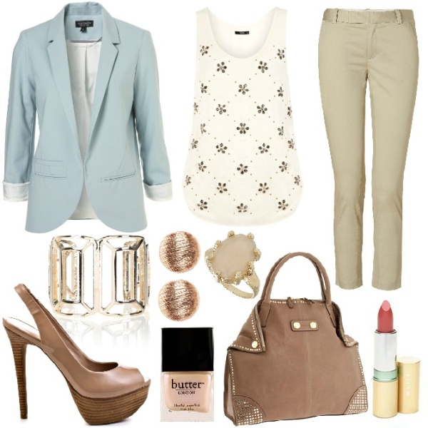 spring-and-summer-work-outfits-125 89+ Stylish Work Outfit Ideas for Spring & Summer 2020