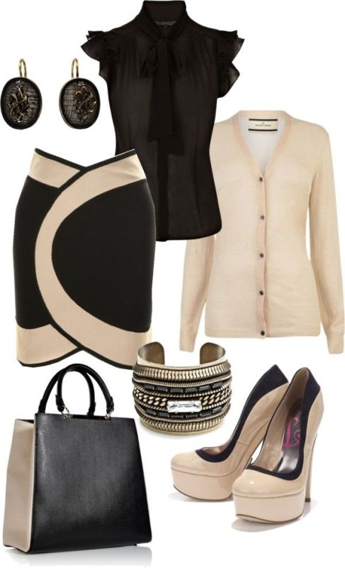 spring-and-summer-work-outfits-16 89+ Stylish Work Outfit Ideas for Spring & Summer 2018