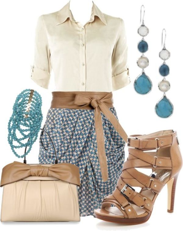 spring-and-summer-work-outfits-184 89+ Stylish Work Outfit Ideas for Spring & Summer 2020