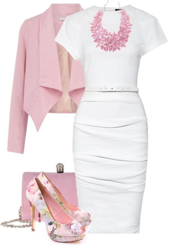 spring-and-summer-work-outfits-39 89+ Stylish Work Outfit Ideas for Spring & Summer 2020