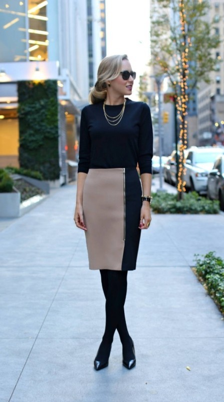 sweaters-1-2 83+ Fall & Winter Office Outfit Ideas for Business Ladies 2020