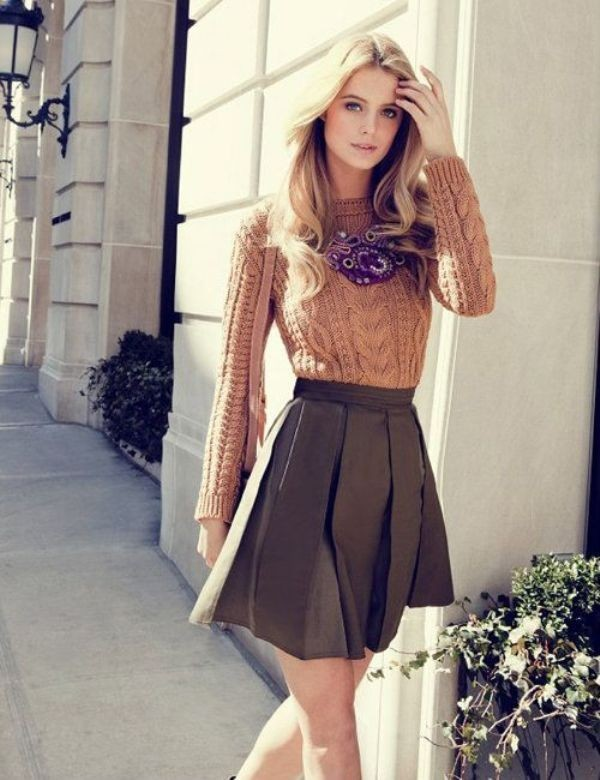 sweaters-11-2 83+ Fall & Winter Office Outfit Ideas for Business Ladies 2020