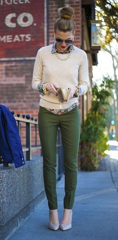 sweaters-14 83+ Fall & Winter Office Outfit Ideas for Business Ladies 2018
