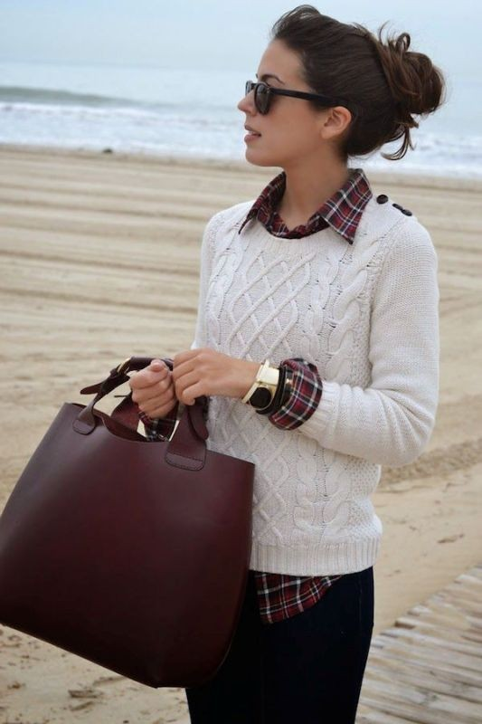 sweaters-6-2 83+ Fall & Winter Office Outfit Ideas for Business Ladies 2018