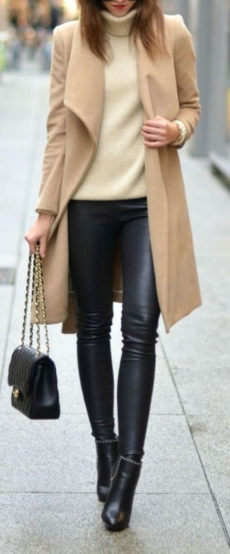 turtlenecks-13-2 83+ Fall & Winter Office Outfit Ideas for Business Ladies 2020
