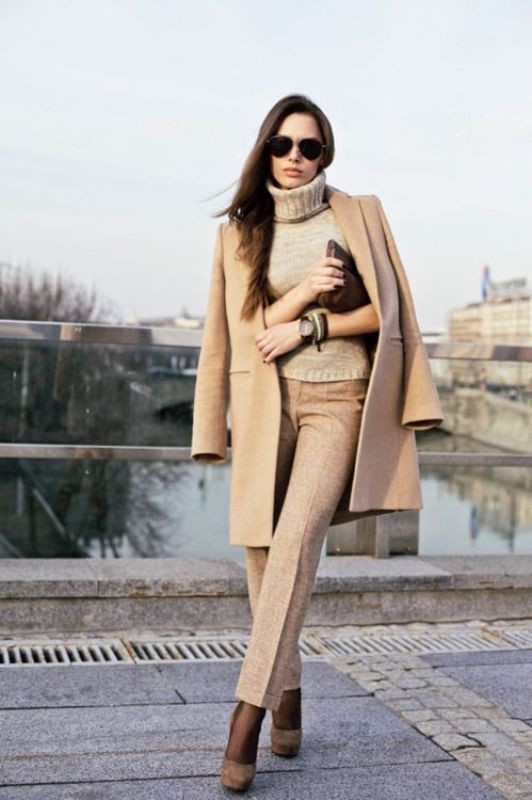 turtlenecks-3-2 83+ Fall & Winter Office Outfit Ideas for Business Ladies 2020