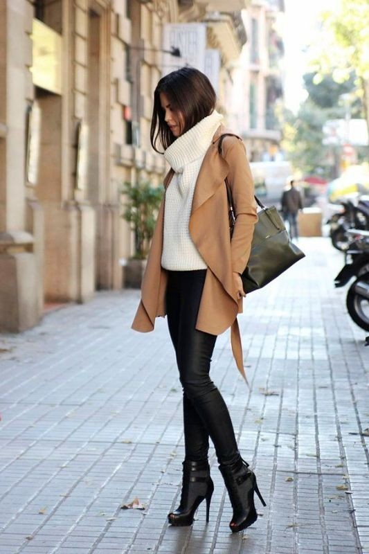 turtlenecks-4-2 83+ Fall & Winter Office Outfit Ideas for Business Ladies 2020