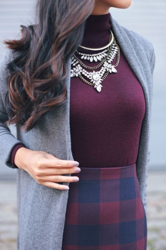 turtlenecks-5-2 83+ Fall & Winter Office Outfit Ideas for Business Ladies 2020