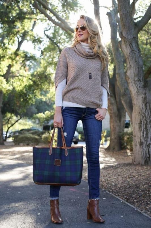 turtlenecks-7-2 83+ Fall & Winter Office Outfit Ideas for Business Ladies 2020