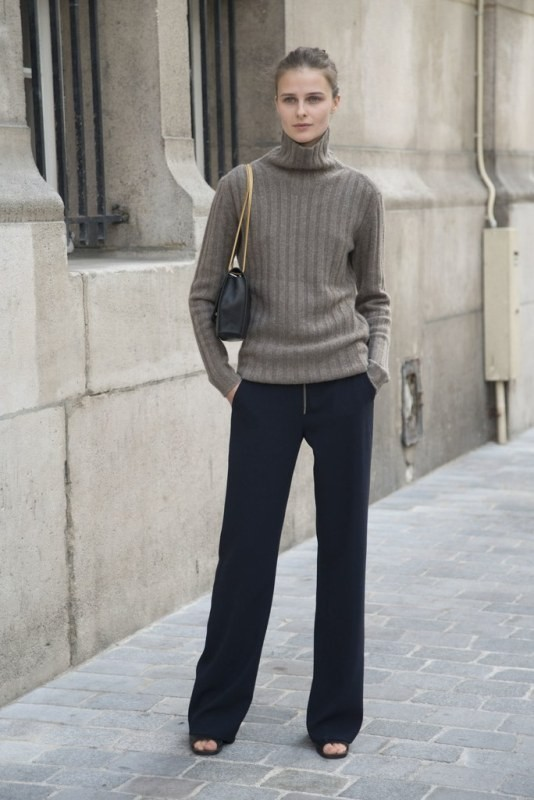 turtlenecks-8-2 83+ Fall & Winter Office Outfit Ideas for Business Ladies 2020