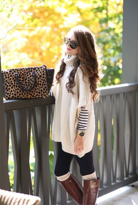 turtlenecks-9-2 83+ Fall & Winter Office Outfit Ideas for Business Ladies 2020