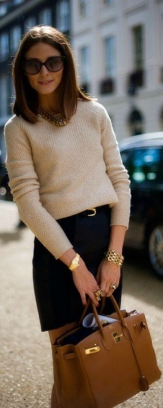 winter-sweaters-14 83+ Fall & Winter Office Outfit Ideas for Business Ladies 2020