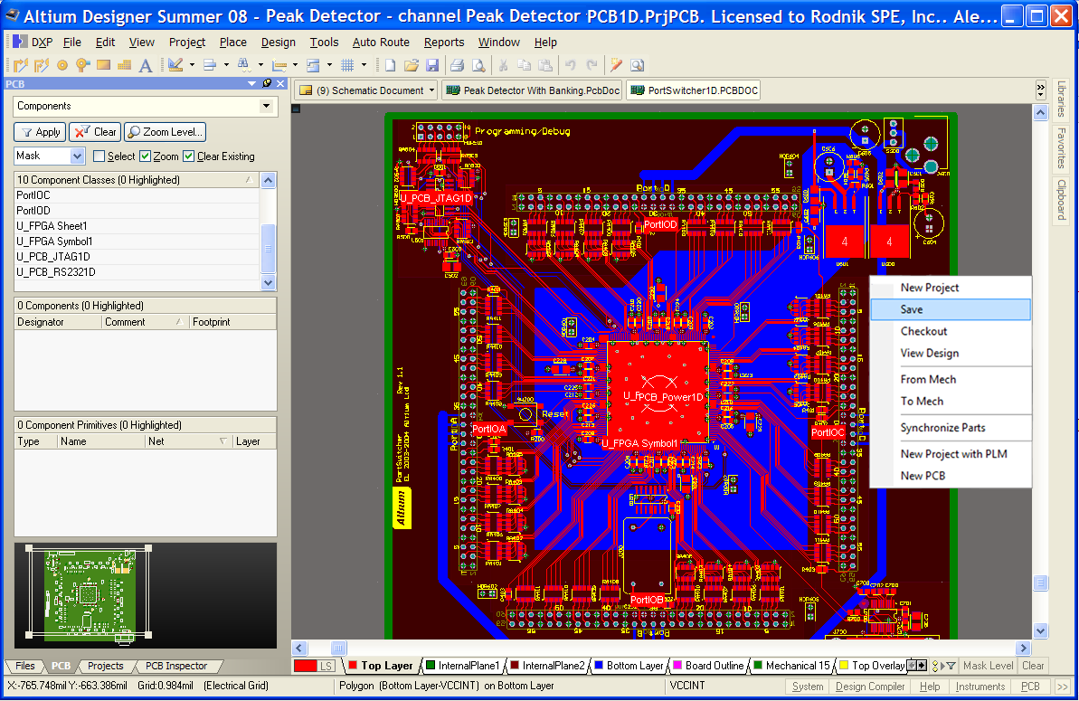 Altium-Designer-Electronic-PCB-layout-and-librarian-connectors-for-aras 10 Leading Free PCB software for Electronics Designers