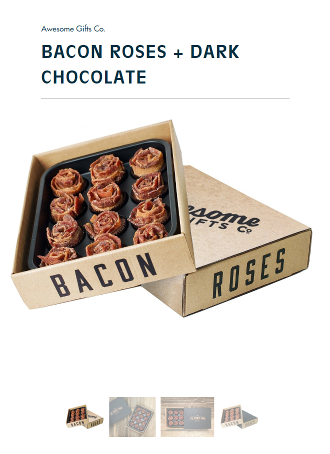 Bacon-Roses 28+ Most Fascinating Mother's Day Gift Ideas