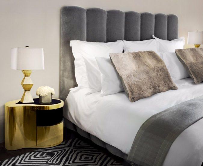 Boca-Do-Lobo-Wave-Golden-Nightstand-contemporary-nightstand-bedroom-675x554 2018 Trending: 20 Bedroom Designs to Watch for in 2018