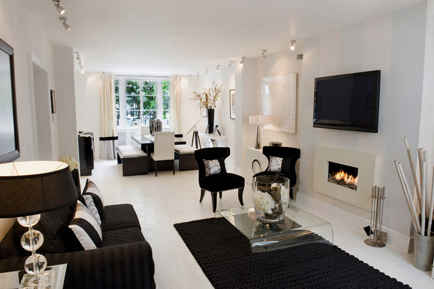 Cool Black And White Living Room Decoration Ideas 5.  Dd3dfc3f7c5cd5001576948ece0490b8 5 Outdated Home ...