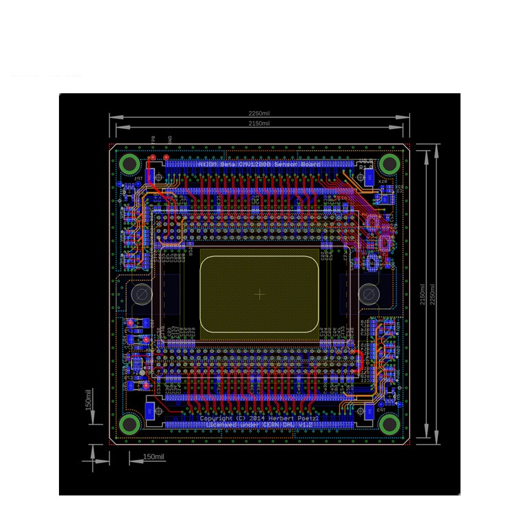 Eagle-PCB-software 10 Leading Free PCB software for Electronics Designers