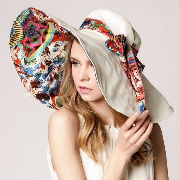 Flower-Foldable-Brimmed-Sun-Hat 28+ Most Fascinating Mother's Day Gift Ideas