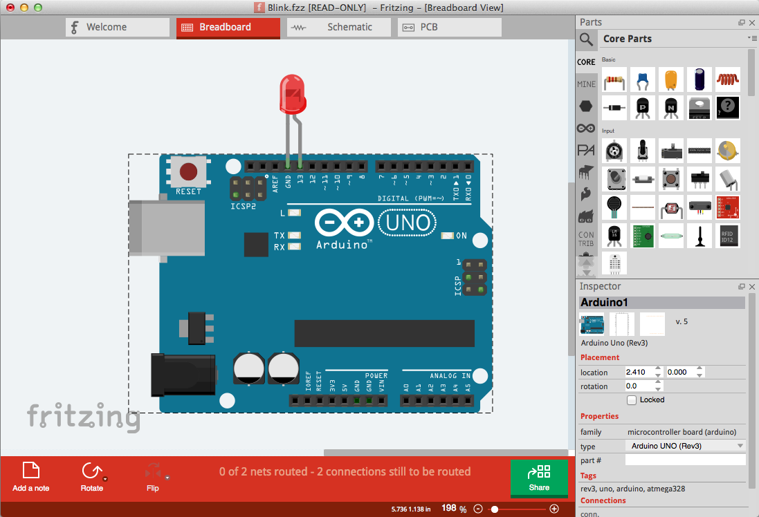 Fritzing 10 Leading Free PCB software for Electronics Designers