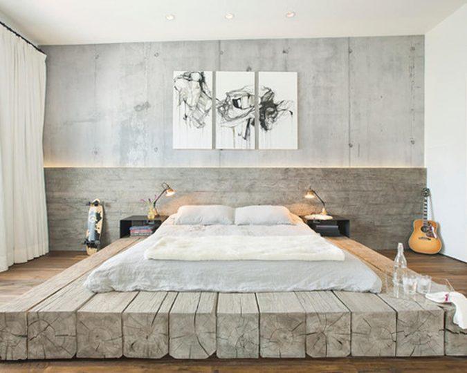 Industrial-Bedroom-Design-2-675x540 2018 Trending: 20 Bedroom Designs to Watch for in 2018