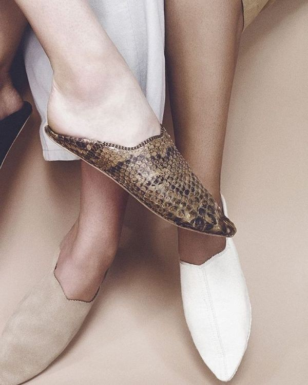 Moroccan-slippers-1 11+ Catchiest Spring / Summer Shoe Trends for Women 2020
