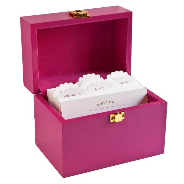 Recipe-Box-1 28+ Most Fascinating Mother's Day Gift Ideas