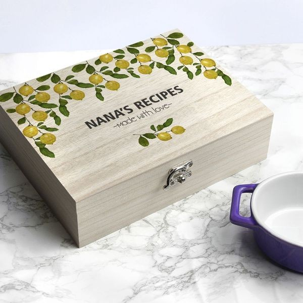 Recipe-Box-3 28+ Most Fascinating Mother's Day Gift Ideas