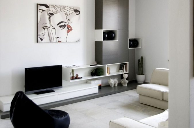 Simple-interior-design-deco-3-675x446 15 Interior Design Tips & Ideas for Narrow Small Spaces