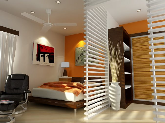 Small-Bedroom-Interior-Designs-Created-to-Enlargen-Your-Space-24-675x506 15 Interior Design Tips & Ideas for Narrow Small Spaces