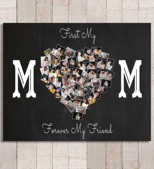 Stunning-heart-using-photos 35 Unexpected & Creative Handmade Mother's Day Gift Ideas