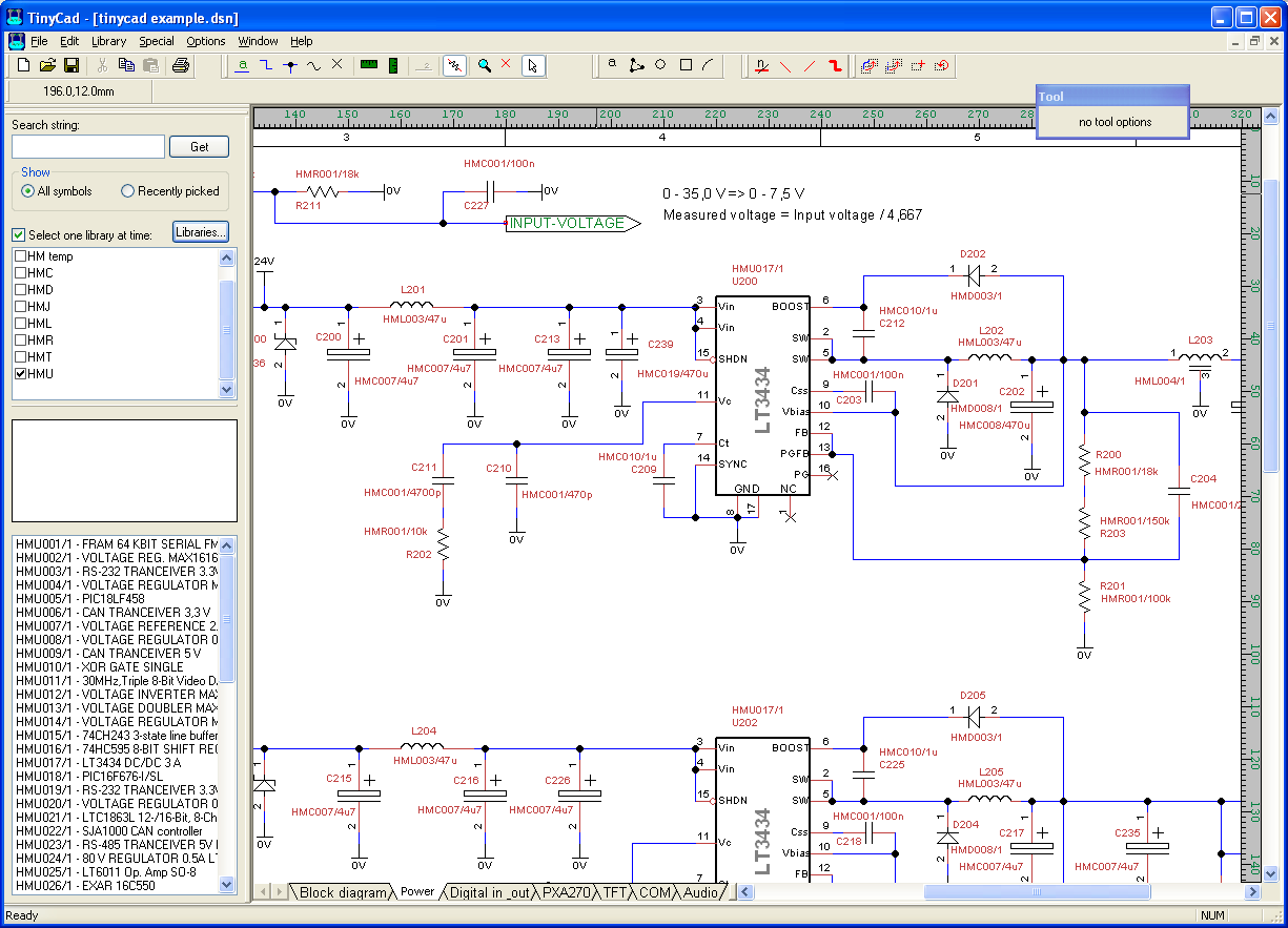 TinyCAD-PCB-software 10 Leading Free PCB software for Electronics Designers
