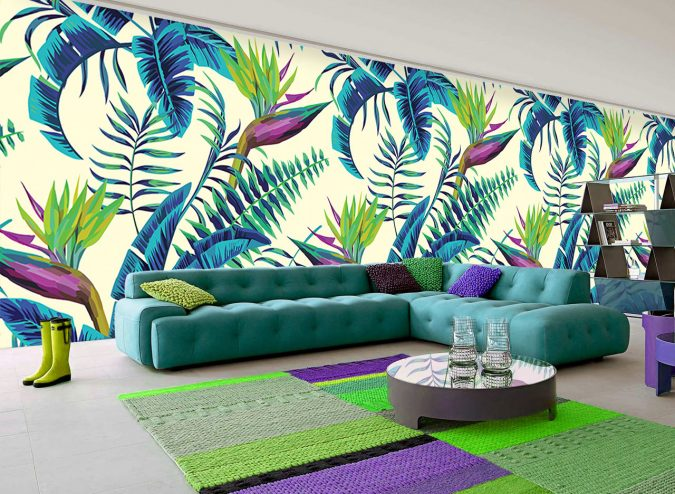Tropical-Wallpapers-5-675x494 14 Hottest Interior Designers Trends in 2018