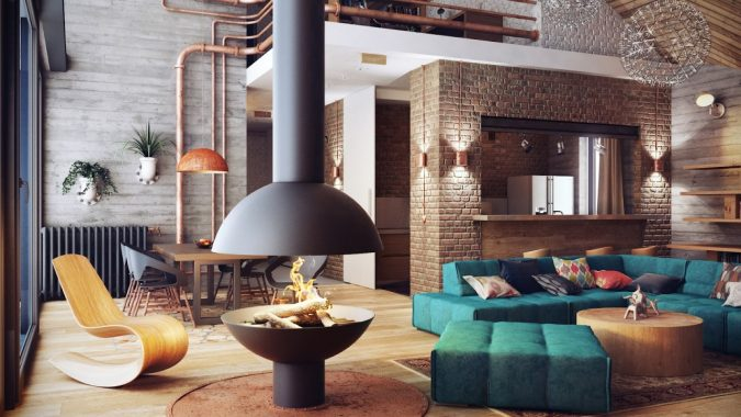 UNTREATED-walls-675x380 14 Hottest Interior Designers Trends in 2018