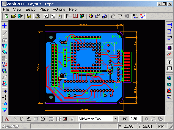ZenitPCB 10 Leading Free PCB software for Electronics Designers