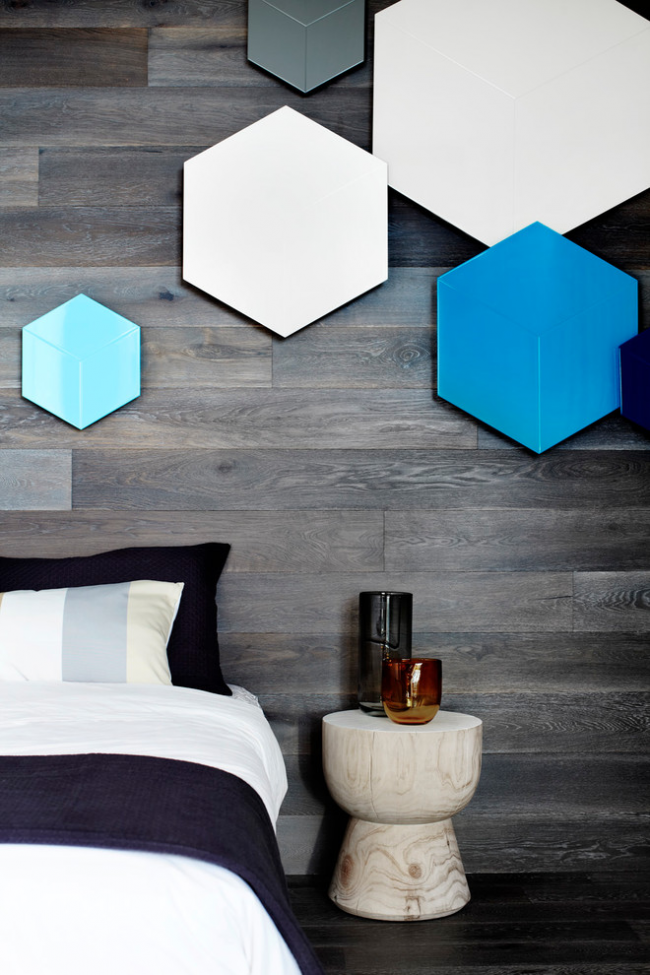 bedroom-interior-design-Geometric-shapes 2018 Trending: 20 Bedroom Designs to Watch for in 2018