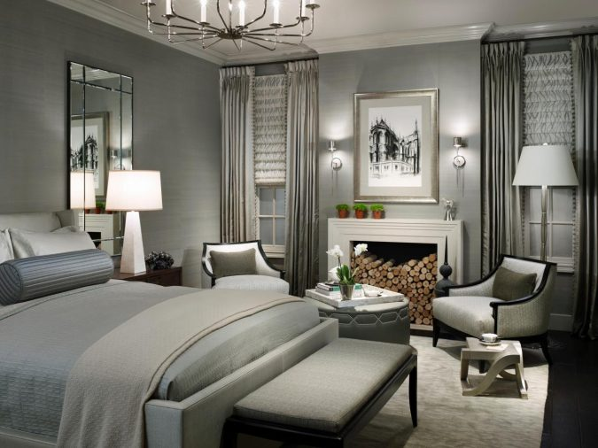 bedroom-interior-design-Shades-of-Gray-675x506 2018 Trending: 20 Bedroom Designs to Watch for in 2018