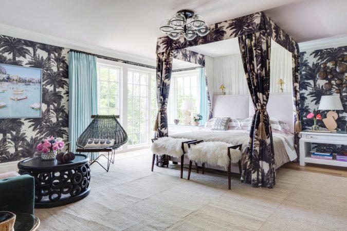 bedroom-interior-design-Tropical-wallpaper-675x450 2018 Trending: 20 Bedroom Designs to Watch for in 2018