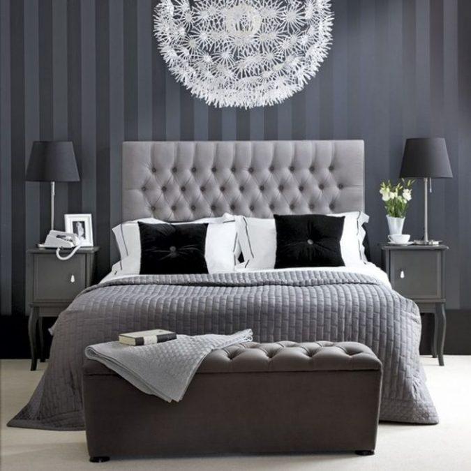 bedroom-interior-design-navy-and-gray-675x675 2018 Trending: 20 Bedroom Designs to Watch for in 2018