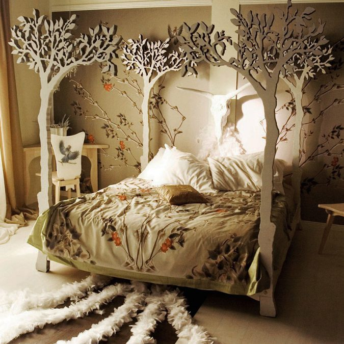bedroom-interior-design-surreal-theme-675x675 2018 Trending: 20 Bedroom Designs to Watch for in 2018