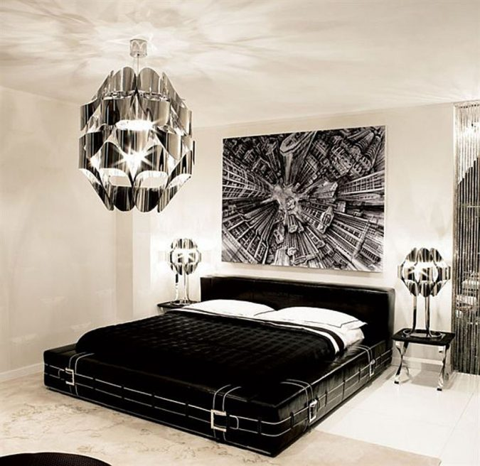 black-and-white-bedroom-design-ideas-675x656 2018 Trending: 20 Bedroom Designs to Watch for in 2018