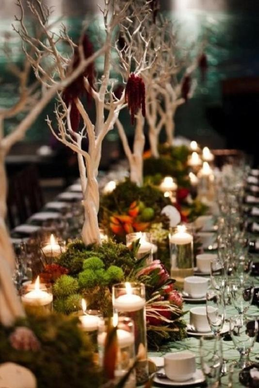 branch-wedding-centerpieces-6 11 Tips on Mixing Antique and Modern Décor Styles